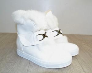 Стильные зимние ботинки 1483 - купить зимнюю обувь