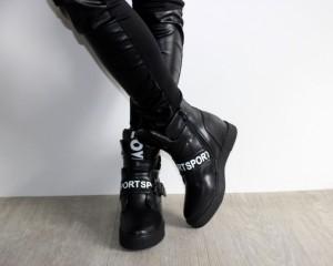 Сникерсы - зимние модели кроссовок на платформе