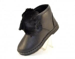 Купить 29-38 TaniE 908 BLACK. Детская обувь для девочки - СанДаль