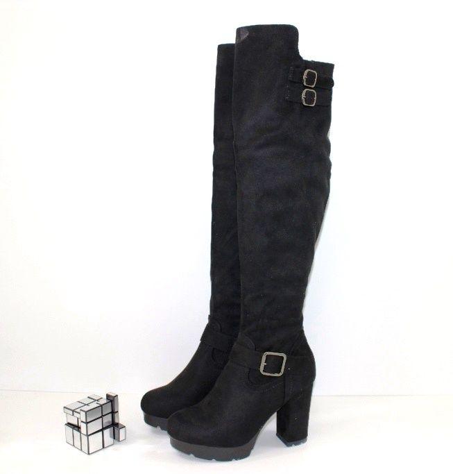 Купити ботфорти Запоріжжя, купити жіночі ботфорти, чоботи високі демісезонні