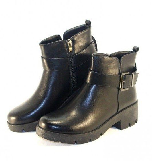 Осенняя женская обувь, купить осенние ботинки Запорожье, осенние ботинки без каблука