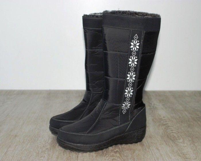 Недорого жіночі дутики купити в Запоріжжі, дутики чоботи зимові Україна, купити дутики онлайн